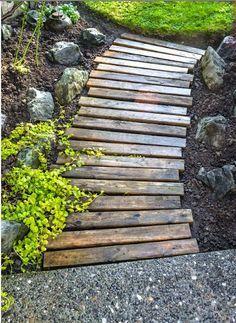 Gorgeous garden path!