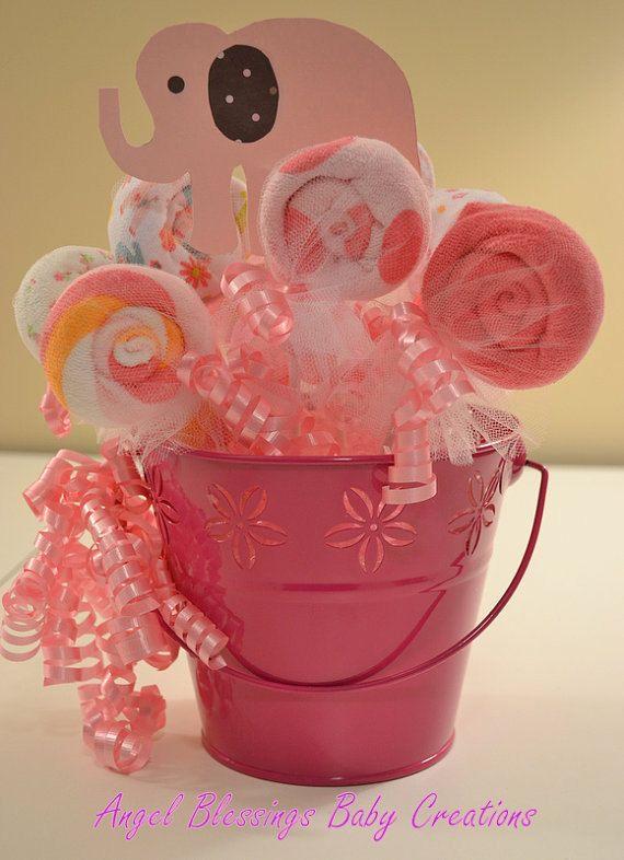 Búho bebé ducha centros de mesa bebé niña niño por AngelBlessings12