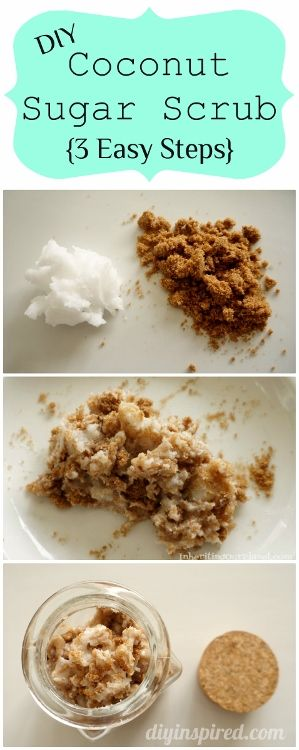 How to Make Your Own Sugar Scrub - in minutes with 3 easy steps, well 2 really :)