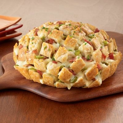 Pull Apart Party Loaf. OMgosh, this looks so good!