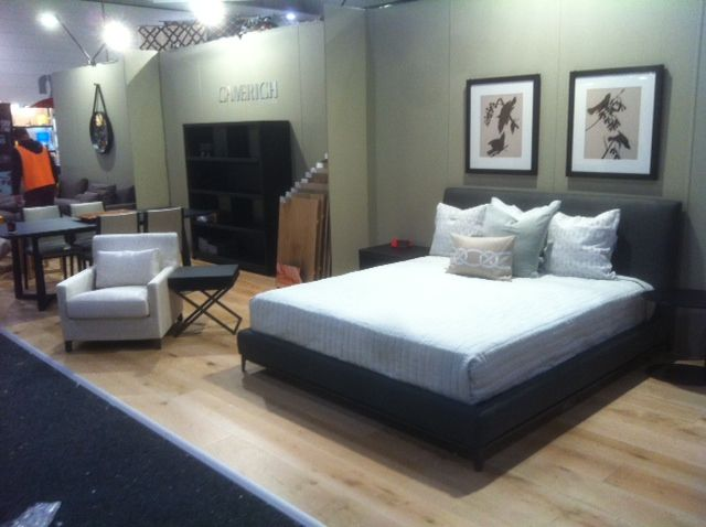 The bedroom layout