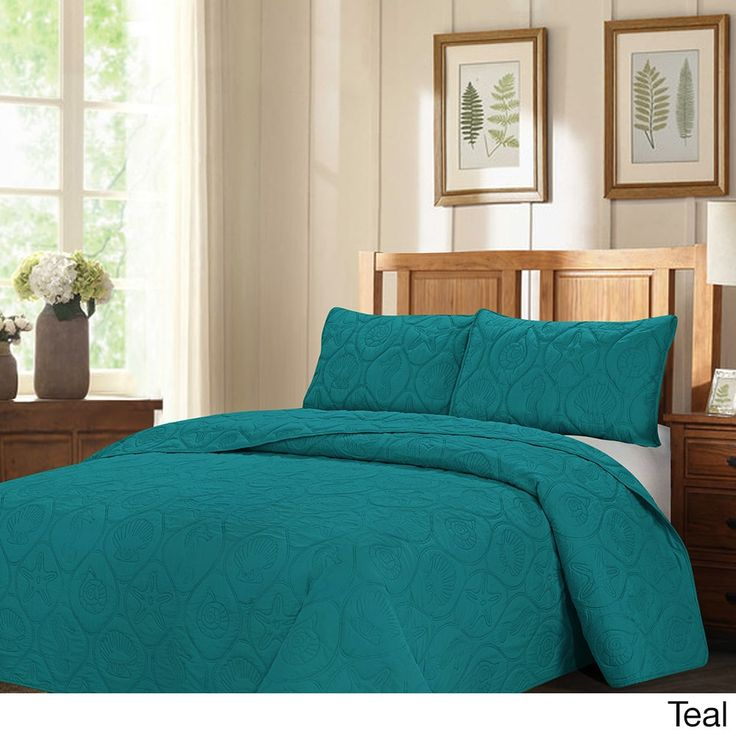 Legacy By The Sea Oversized 3-piece Quilted Bedspread Set