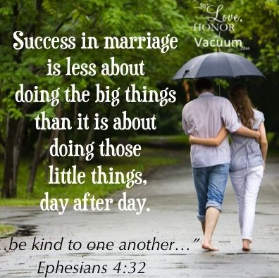 Be Kind to Your Husband--it's such a little thing, but it's often the little things that make all the difference in a marriage.