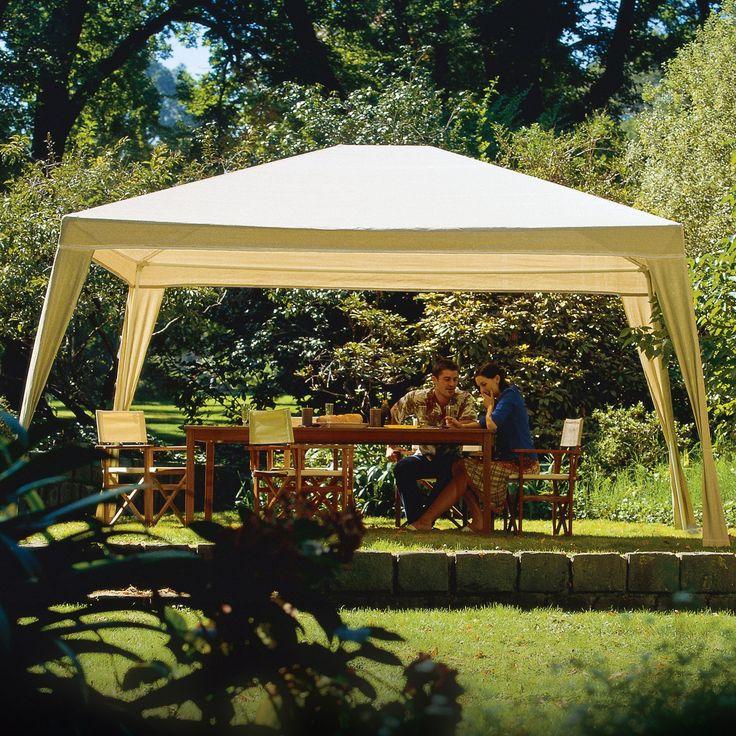Coolaroo 10 x 12 ft. Aluminum Gazebo Canopy - Canopies at Hayneedle