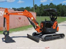 2007 Kubota U35-3S Hydraulic Mini Excavator Dozer Blade Crane bidadoo apply to finance www.bncfin.com/apply excavators for sale - excavator financing