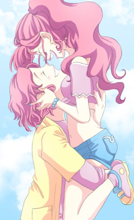 AY it's Pinkie Pie and her genderbend. #IShipItToTheBed