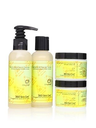 360 Skin Care Clarify Me Citrus Fresh Facial Care 4-Piece Set