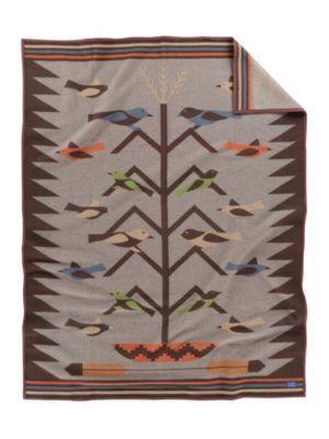 Tree of Life II: Pendleton Wool Blanket