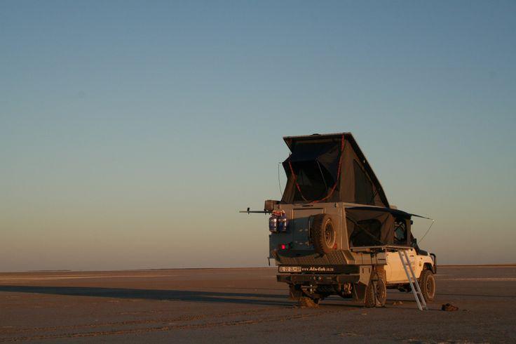 Rest time - Alu-Cab, Botswana