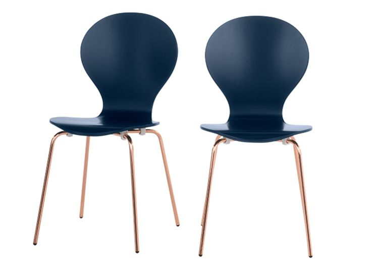 The Kitsch dining chairs are perfect for brightening up your dining room with modern style.