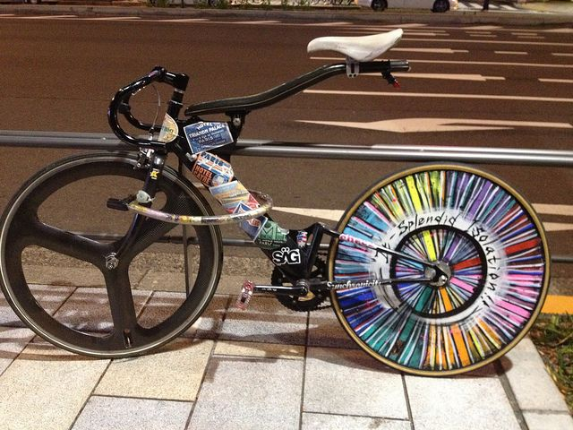 Appears to be real ☺ #bicycle #cycling #bike
