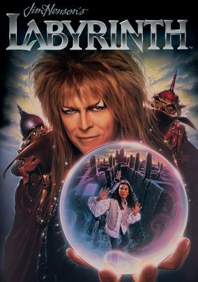 Labyrinth.....awesome movie, costumes and music. David Bowie in tights, enough said.