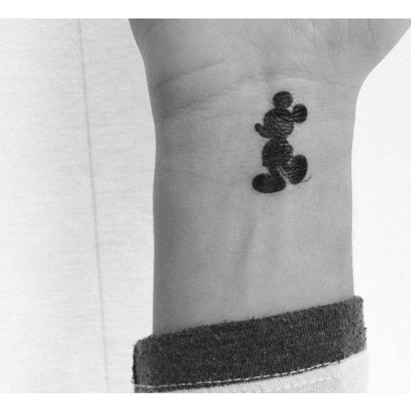 Mickey mouse tattoo (pack of 3 tattoos) (4.49 AUD) ❤ liked on Polyvore featuring…