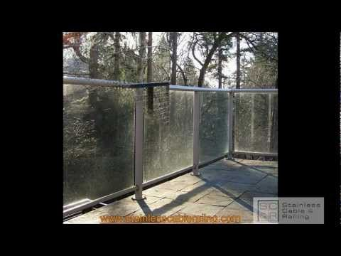 Watch A Glass Railing System Transform To A Very Sexy And Much Cleaner  Aluminum Railing System