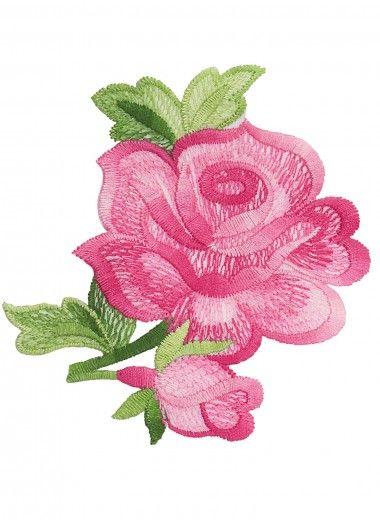 """Vignette """"Rose"""" Accessoires, broderie & tricot Achat en ligne"""