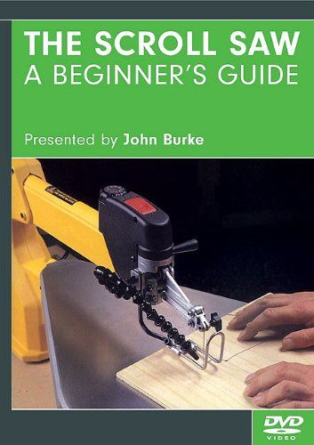 The Scrollsaw - A Beginner's Guide DVD - From wood, steel, brass, and fabric topaper, stone, and even glass, this how-to DVD shows craftsmen how to use the easy-to-operate scroll saw to cut beautiful pieces from a variety of materials. Step-by-step