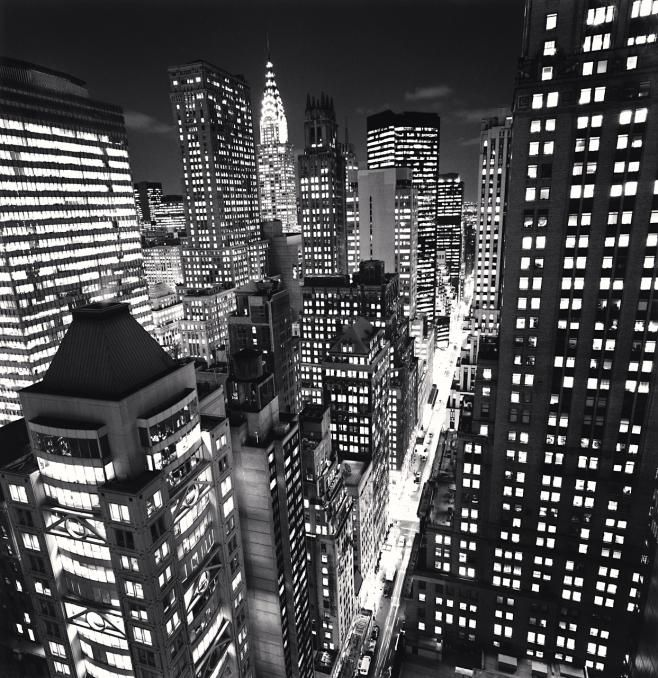 East 40th Street, New York, NY USA, 2006 by Michael Kenna