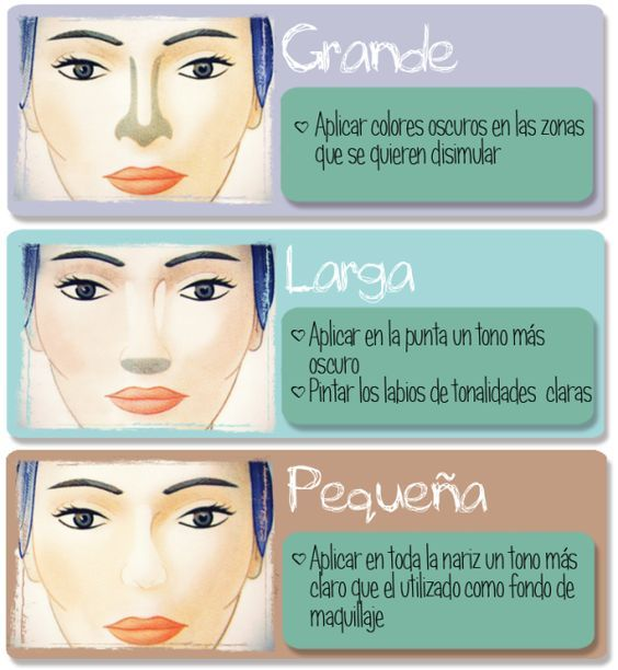 trucos para maquillar nariz