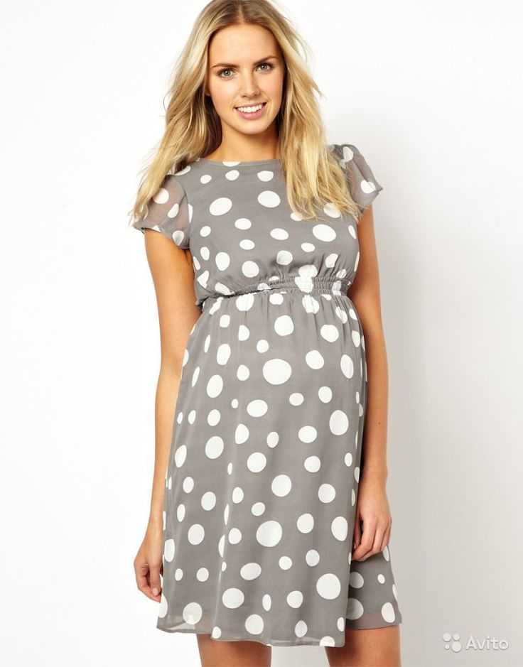 платье в горошек для беременных - Поиск в Google