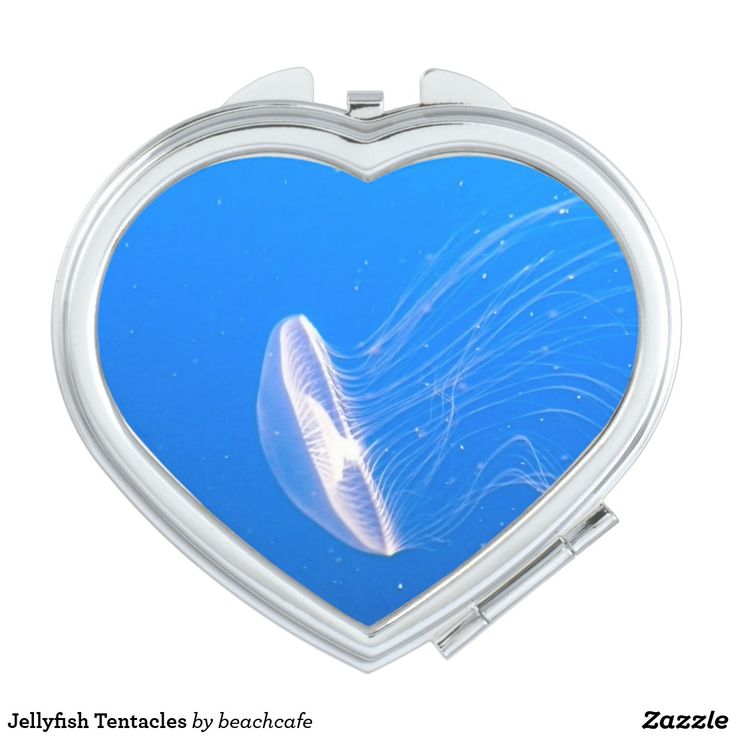 Jellyfish Tentacles Compact Mirror