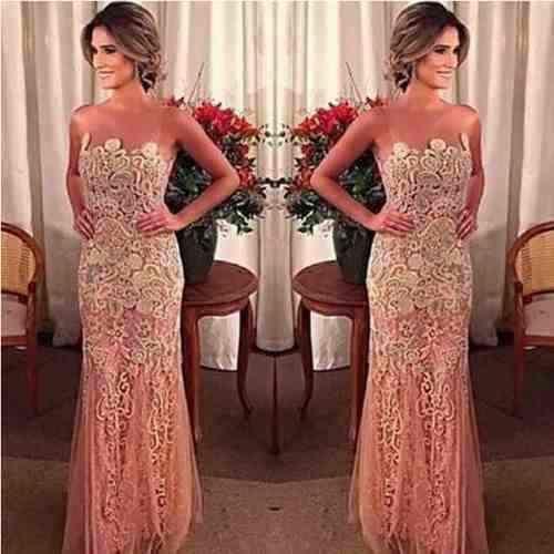 Veja no Post de Hoje o Modelo de Vestido Para Casamento Com Renda Para Noite Que eu Indico Para Você Usar.