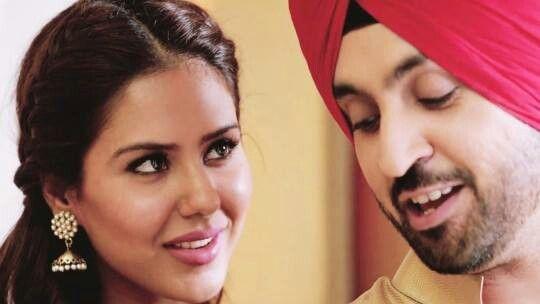 Diljit and Sonam bajwa in veervaar song