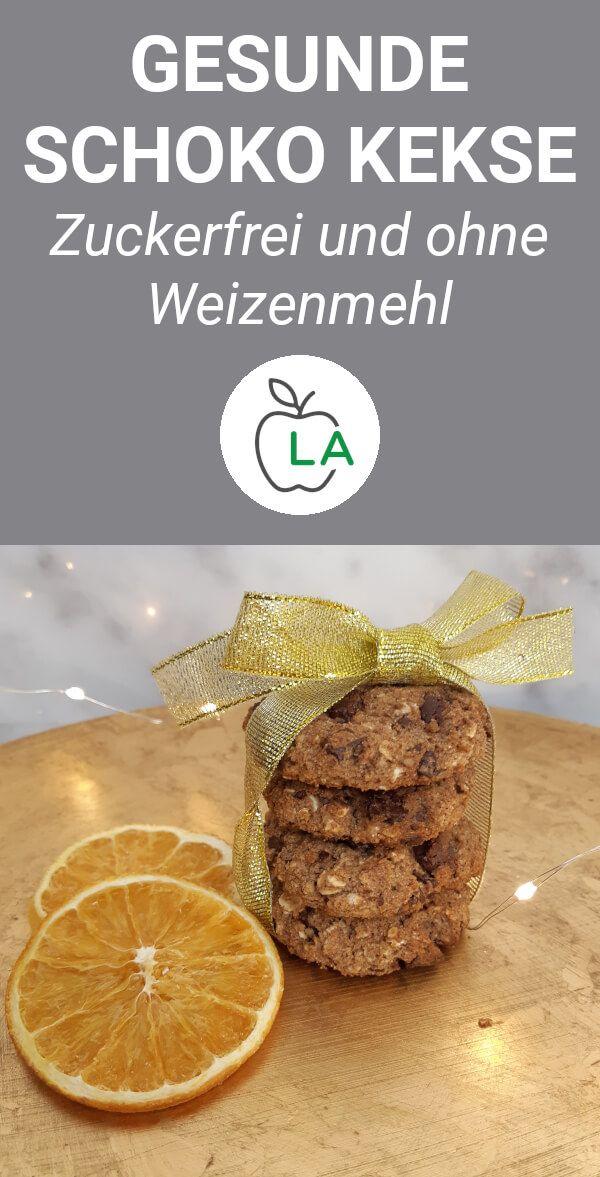 Gesunde Schoko Kekse (Fitness Rezept)