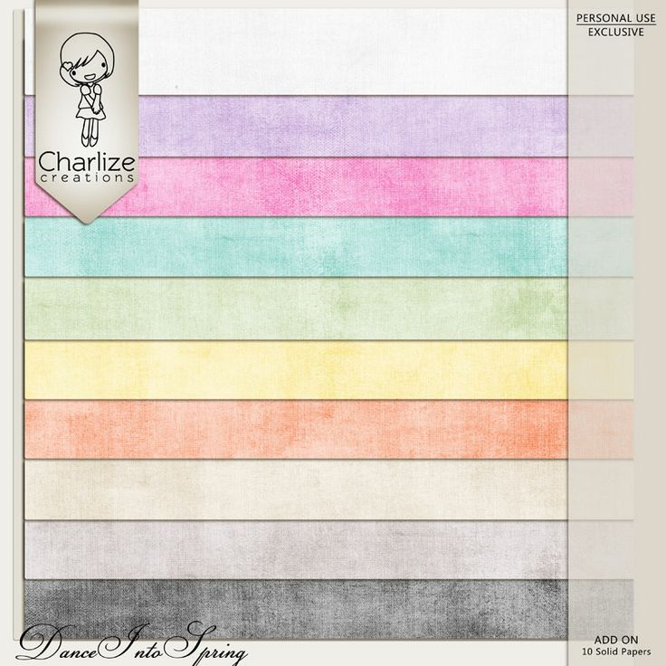 Oscraps :: Shop by Designer :: Charlize Creations :: Dance Into Spring Paper Add On