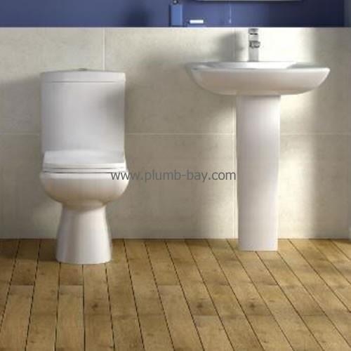 Fresssh Designer Elan 4 Piece Bathroom Suite - £369.00  http://www.plumb-bay.com/fresssh-elan-suite