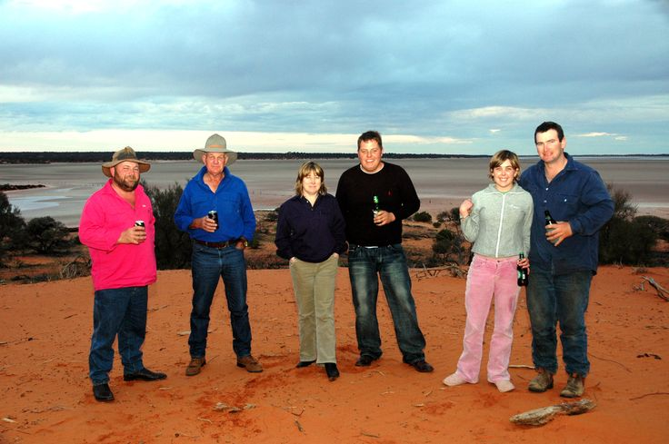 Typically great time at Wirraminna Station with Bundy Bannerman, Mort, Sheryn, Micheal Wilkinson, Emily and Paul Jolley.