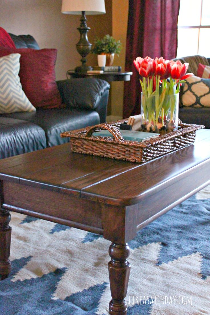 Coffee table refresh how to strip and stain wood furniture it ended up being