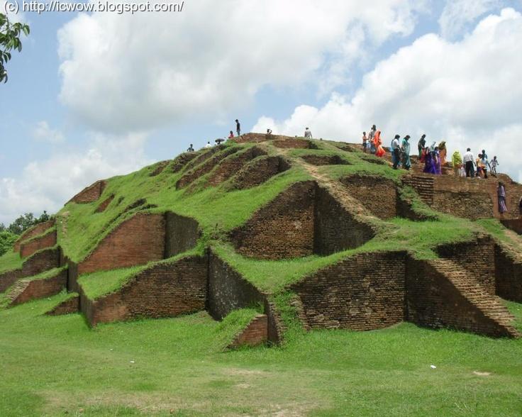 Vasu Bihar Mahasthangarh Gokul Medh. Mohasthangarh is one of the oldest archeological sites in Bangadesh.