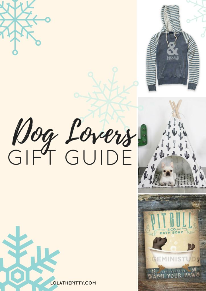 Good Gifts For Dog Lovers Part - 18: Dog Lovers Gift Guide! Tons Of Great Ideas For Dog Parents Via  Lolathepitty.com
