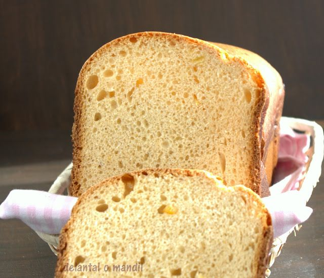 delantal o mandil: Pan dulce de espelta con naranja del #diadelaespel...