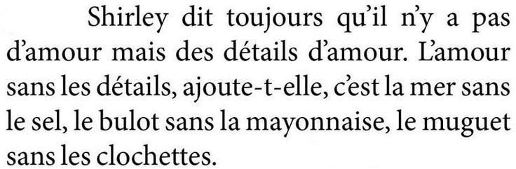 #preuves d'amour ou #details qui tuent !