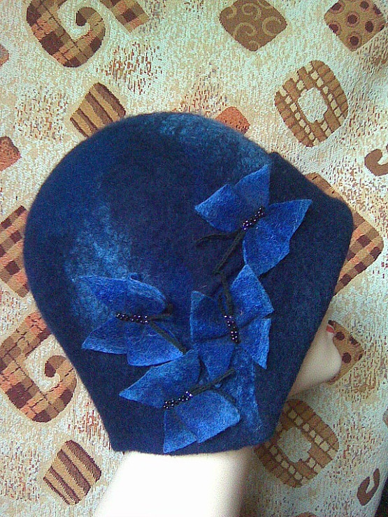 Felted hat Gallery.ru / Фото #5 - HATS & CAPS II - renew