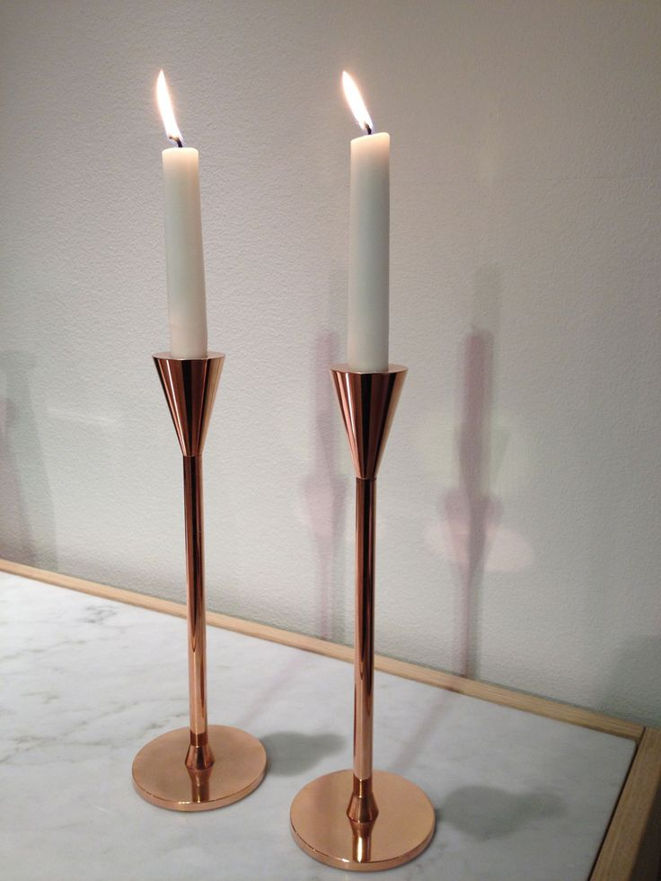 My favorite candle holder. Copper plated limited edition, have to hurry!  Asplund and Thomas Sandell have done it again! BRAVO!