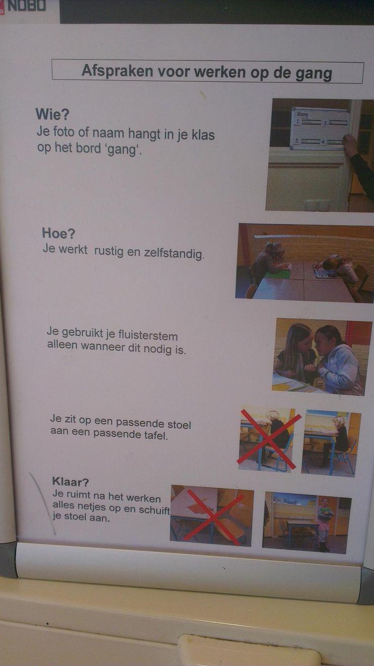 Twitter / Onderwijsgek: Gezien op een daltonschool: ...