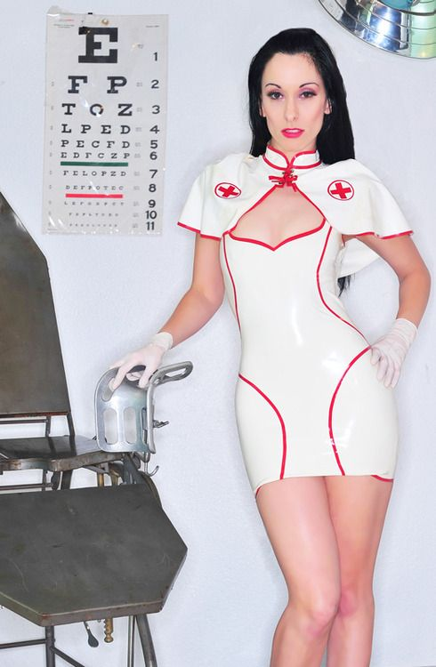He has a fetish for nurse dress