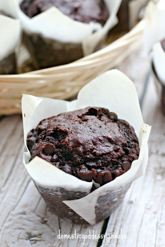 Double Mocha Chocolate Chip Muffins