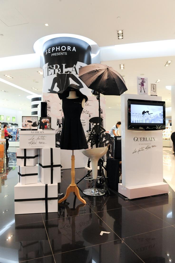 sephora singapore la petite robe noire guerlain beauty fragrance launch woman little. Black Bedroom Furniture Sets. Home Design Ideas