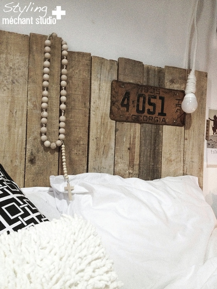 Méchant Design: bedroom update  LUDD lamp and Mechant Rosary by Cez