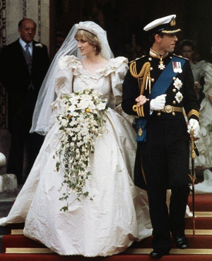 Places - Royal Wedding Charles, Prince of Wales, and Lady Diana Spencer at St Paul's Cathedral in London. 1981.  Places I have been