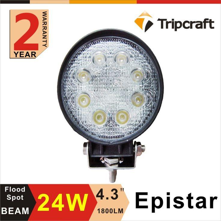 Best selling 24w led work light round led working light 24w 4inch led pod