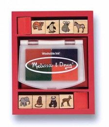 Melissa & Doug - Baby Zoo Animals Stamp Set Shop Online - iQToys.co.nz