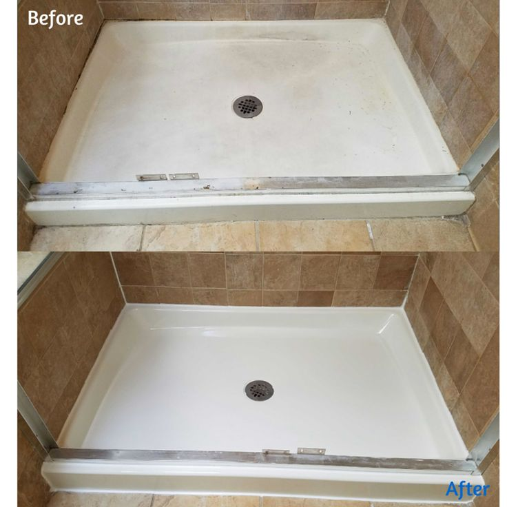 Fiberglass Is Porous, Making It Nearly Impossible To Keep Clean. Our  Resurfacing Process Can. Shower PanMake ...