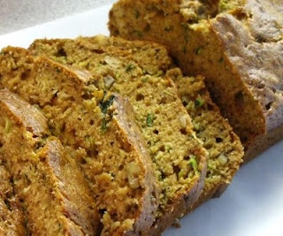 Zucchini Bread from my Weight Watcher's Cookbook. Really good.