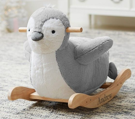 Penguin Plush Rocker | Pottery Barn Kids