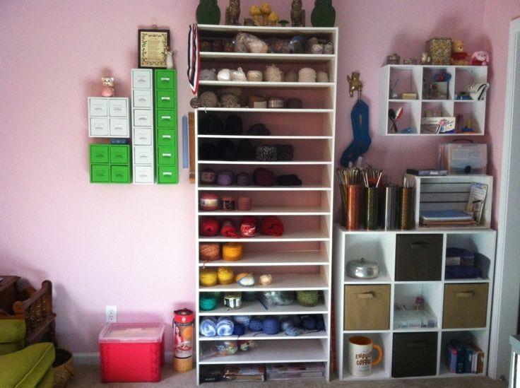 Elegant My Knitting Room. | Office Ideas | Pinterest