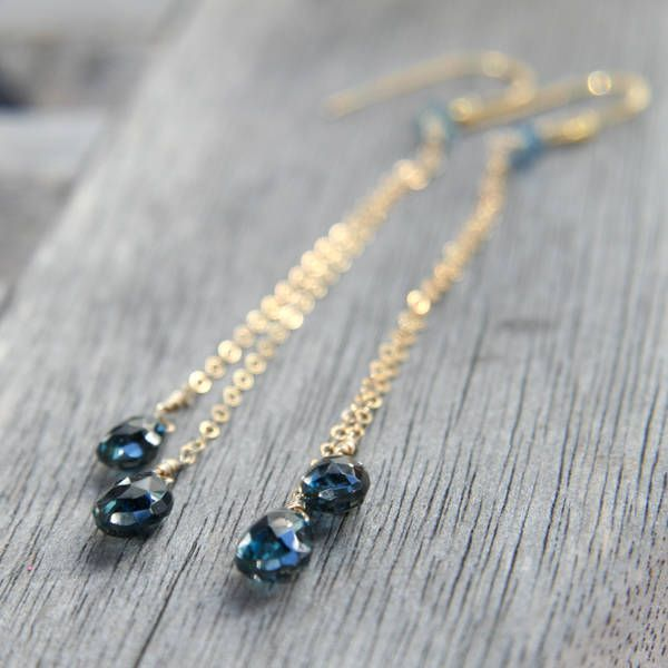 Nicaise's sapphire earrings